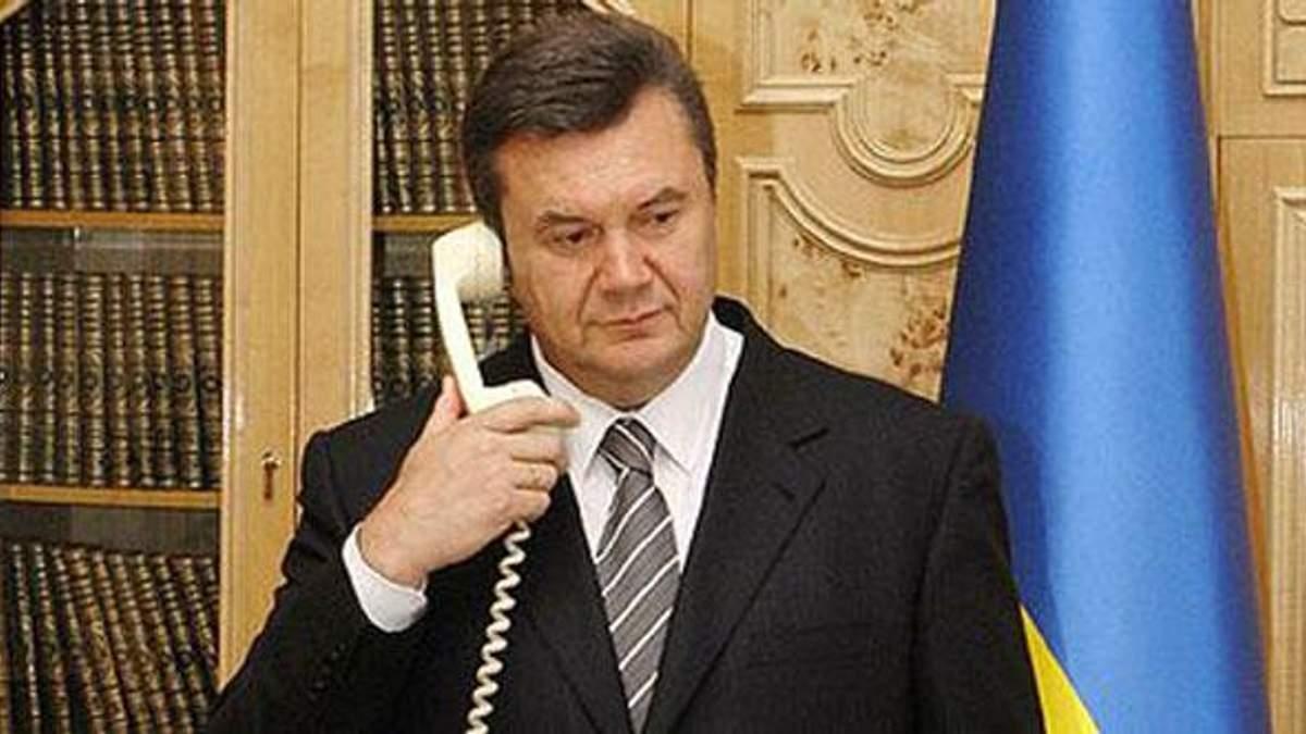 Путин и Янукович поговорили об импорте по телефону