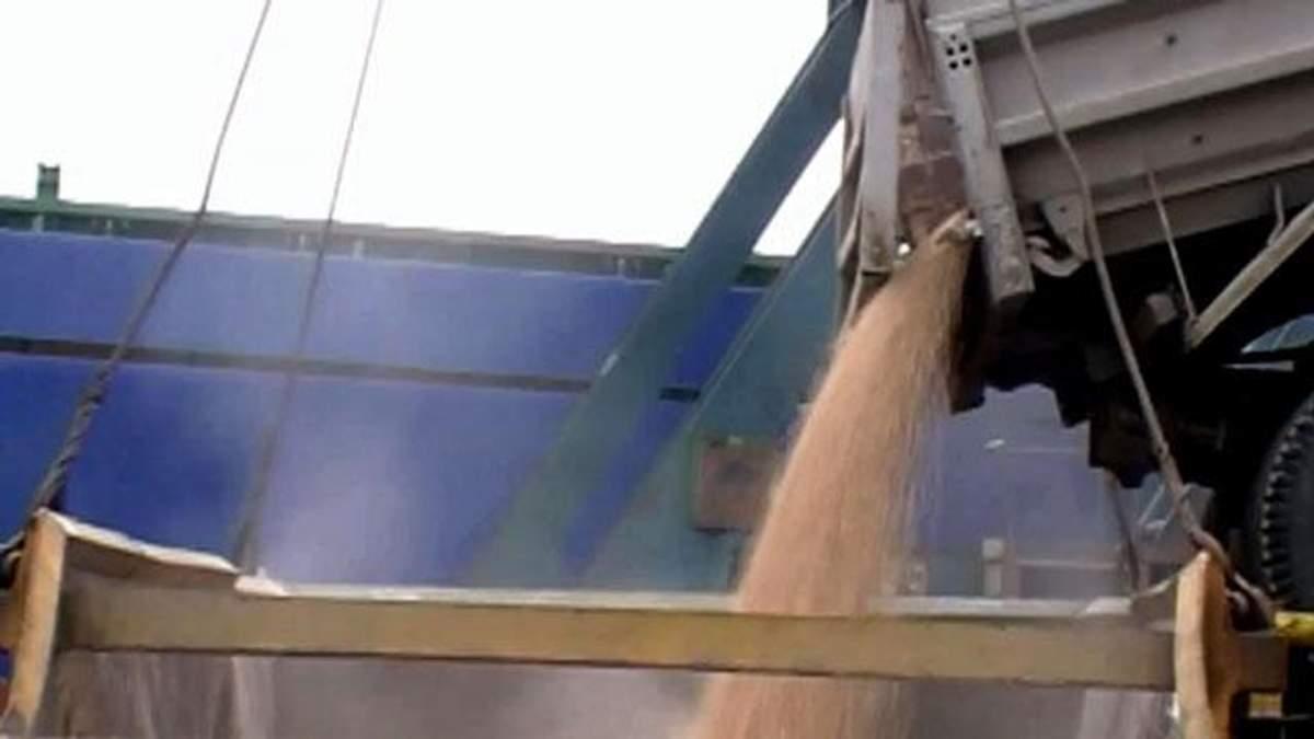 Україна експортувала рекордний обсяг зерна