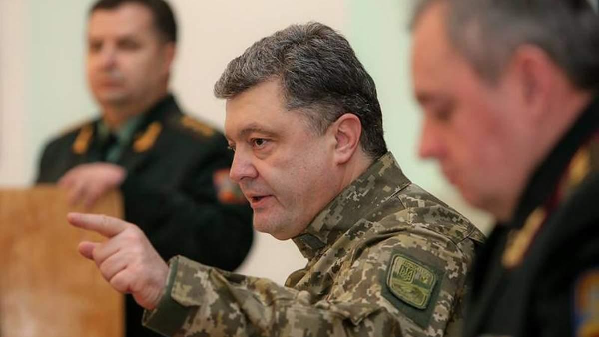 Порошенко хочет, чтобы Украина продавала еще больше нового оружия