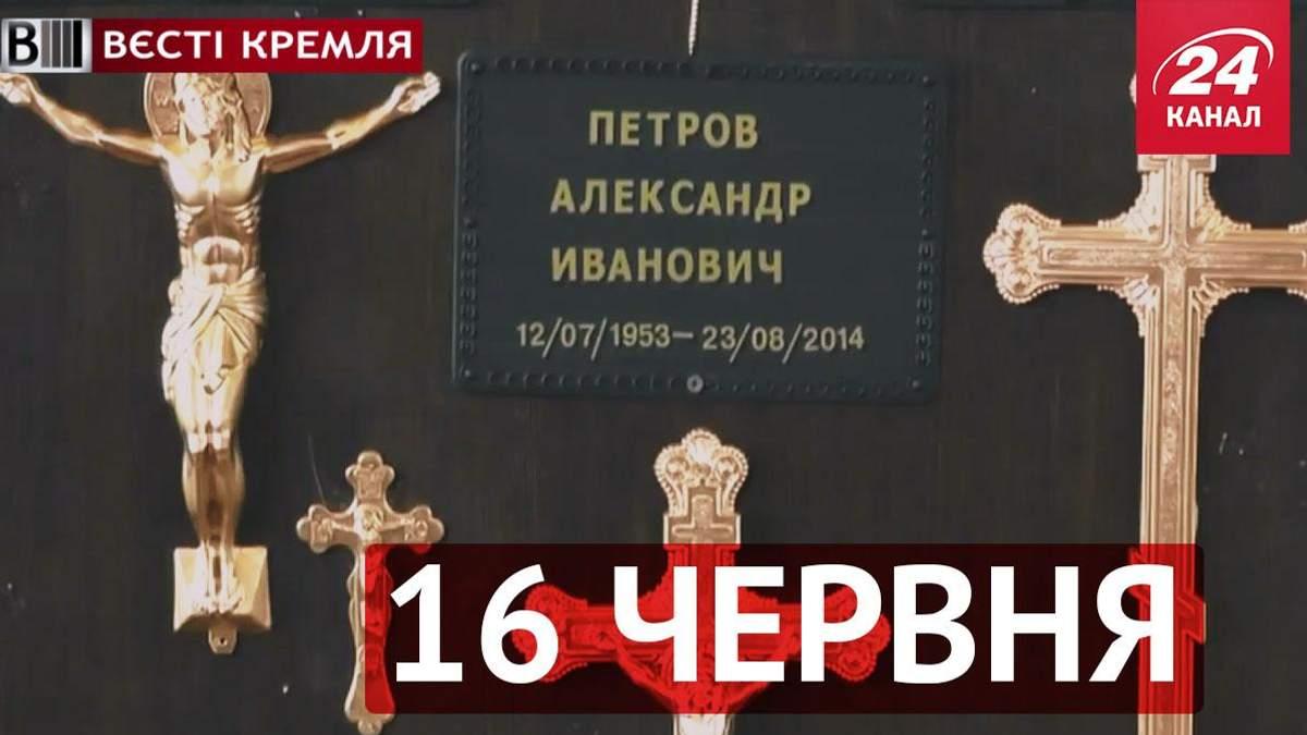 Вести Кремля. Выставка гробов в Крыму, в Ростове прошли дикие ралли на тракторах