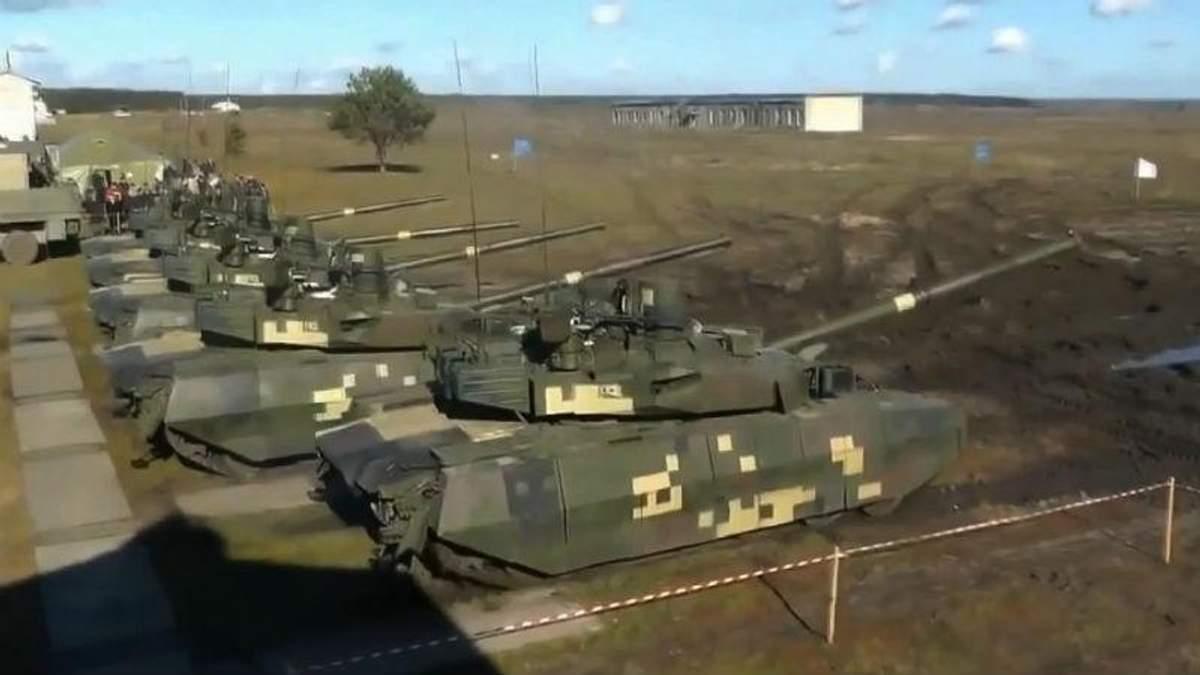 В Україні представили найсучаснішу у світі зброю