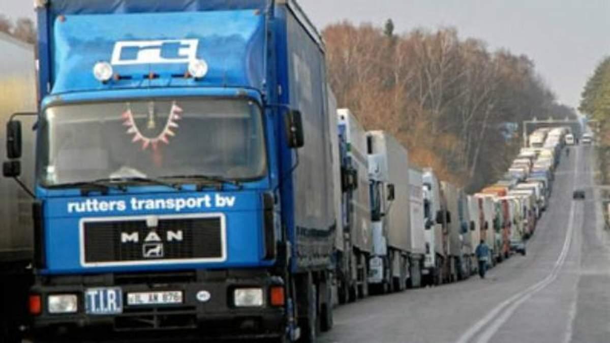 Що отримала Україна від польських санкцій на російські вантажівки