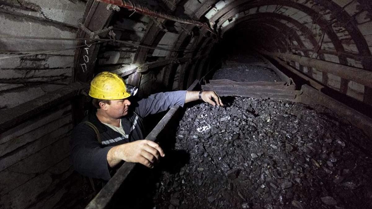 Україна заблокувала експорт антрацитового вугілля