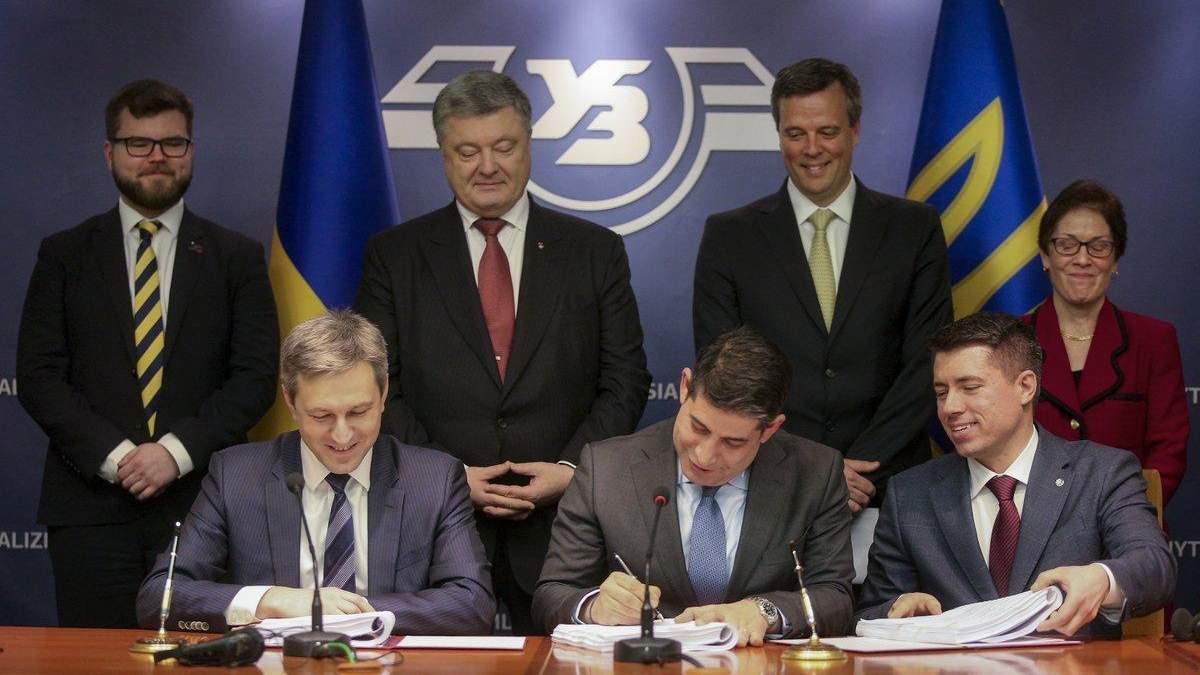 """General Electric выделяет """"Укрзализныце"""" 1 миллиард на модернизацию железной дороги"""