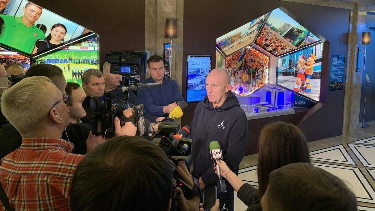 В день своего 60-летнего юбилея Ярославский подарил Харькову музей Евро-2012