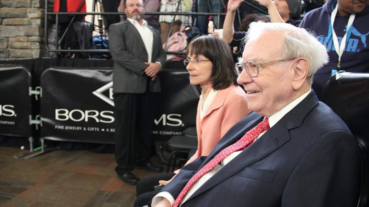 Компанія Воррена Баффета придбала власні акції на рекордну суму