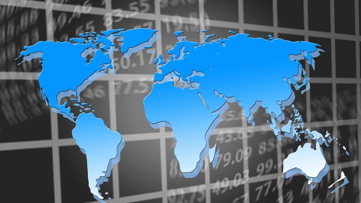 Ситуация на мировых фондовых рынках