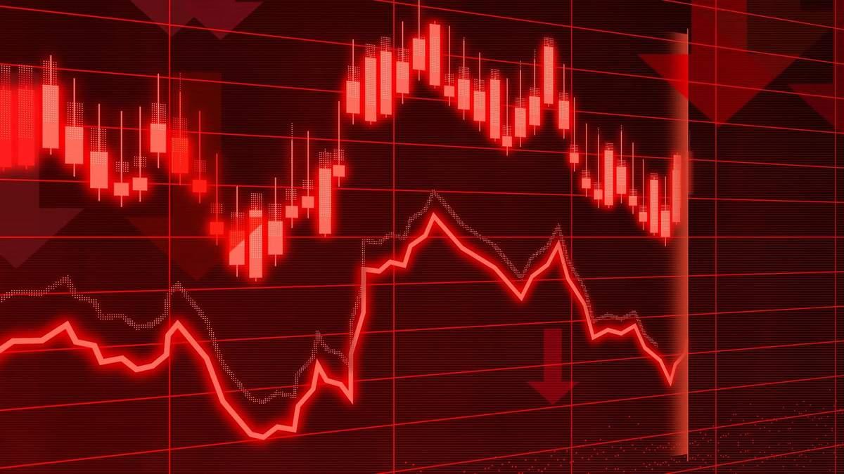 Обвал на фондовом рынке США