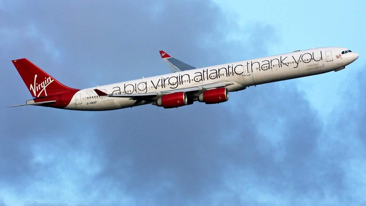 Британская авиакомпания Virgin Atlantic