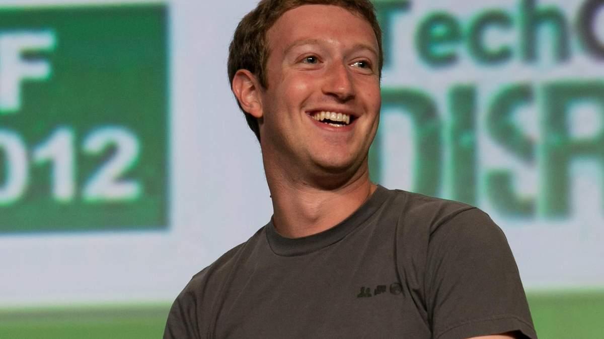 Марк Цукерберг, засновник і гендиректор Facebook