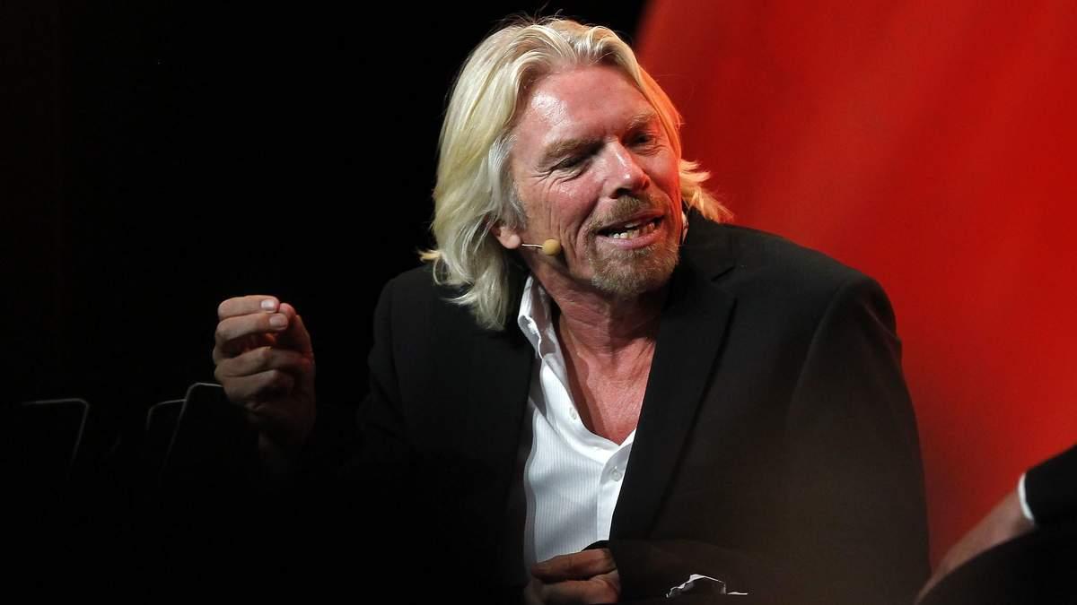 Миллиардер Ричард Брэнсон – основатель Virgin Group