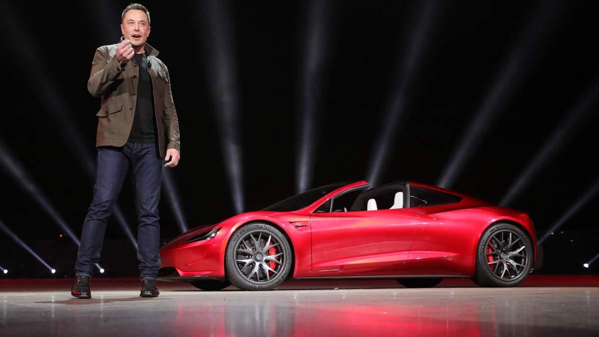 Акції Tesla впали в ціні, як і статки Ілона Маска – деталі