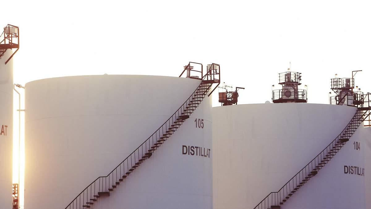 Ціни на нафту 21 жовтня 2020 впали через ріст запасів у США