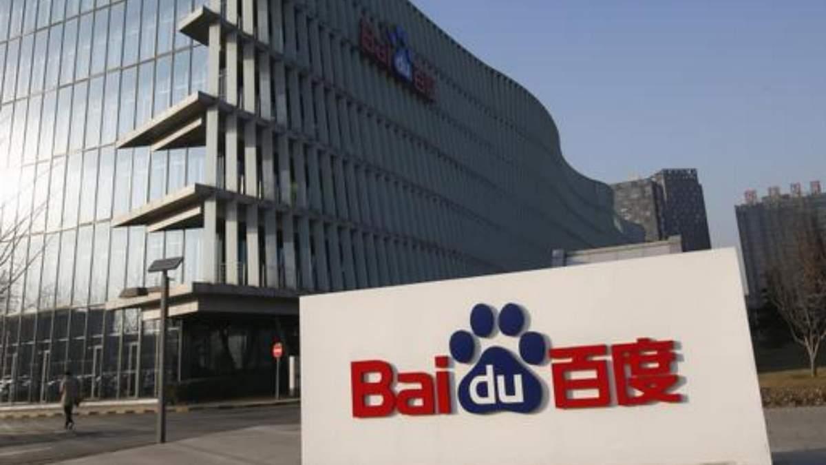 Пошуковик з Китаю Baidu може почати виробляти електромобілі
