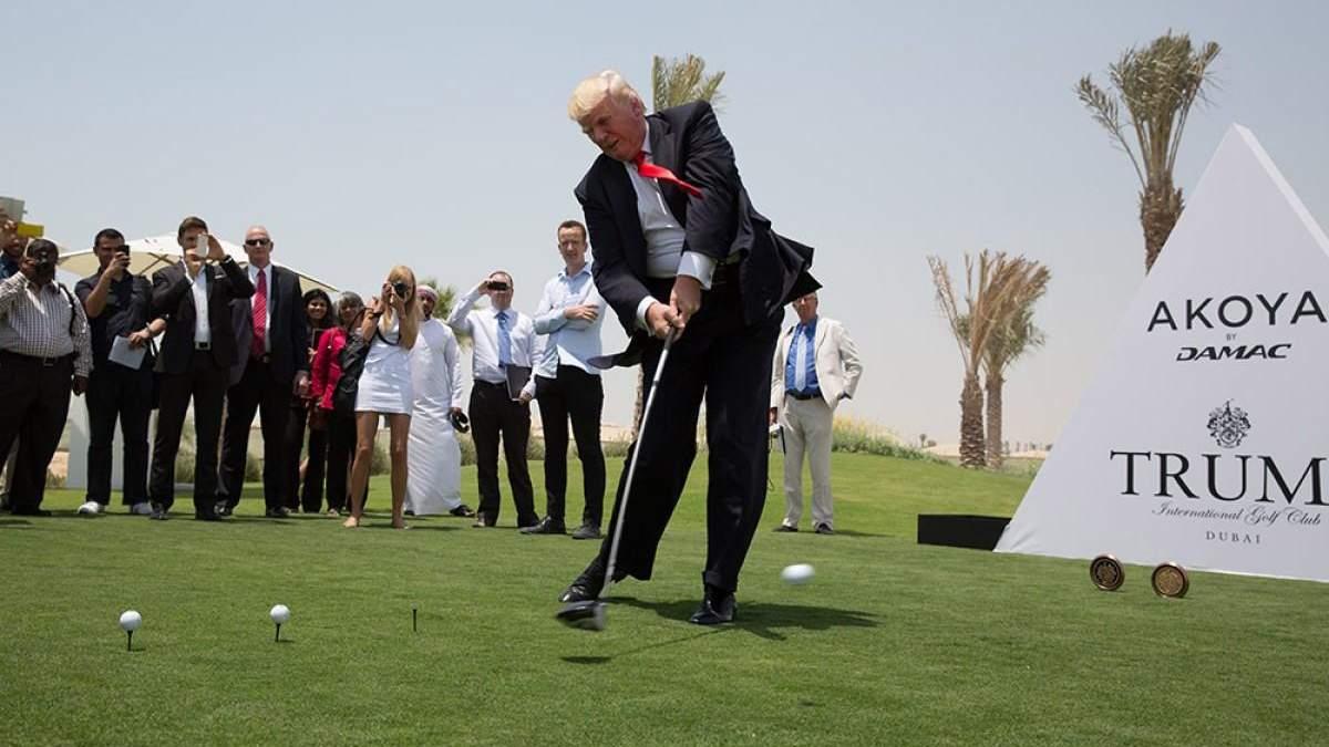 8 лет без прибыли: гольф-клуб Трампа понес убытки на 1,5 миллиона
