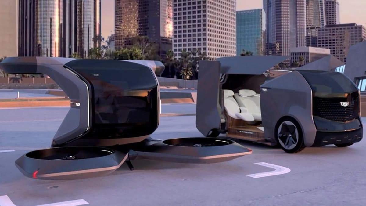 General Motors представила концепт літаючої машини: фото та деталі
