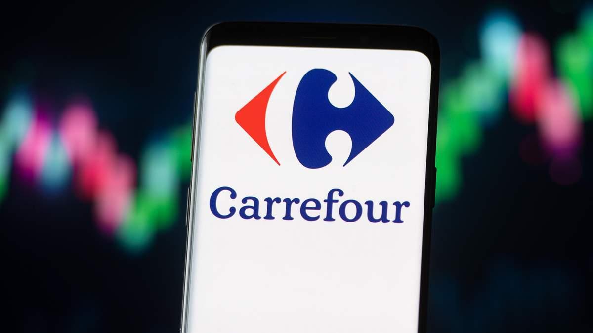 французька мережа супермаркетів Carrefou