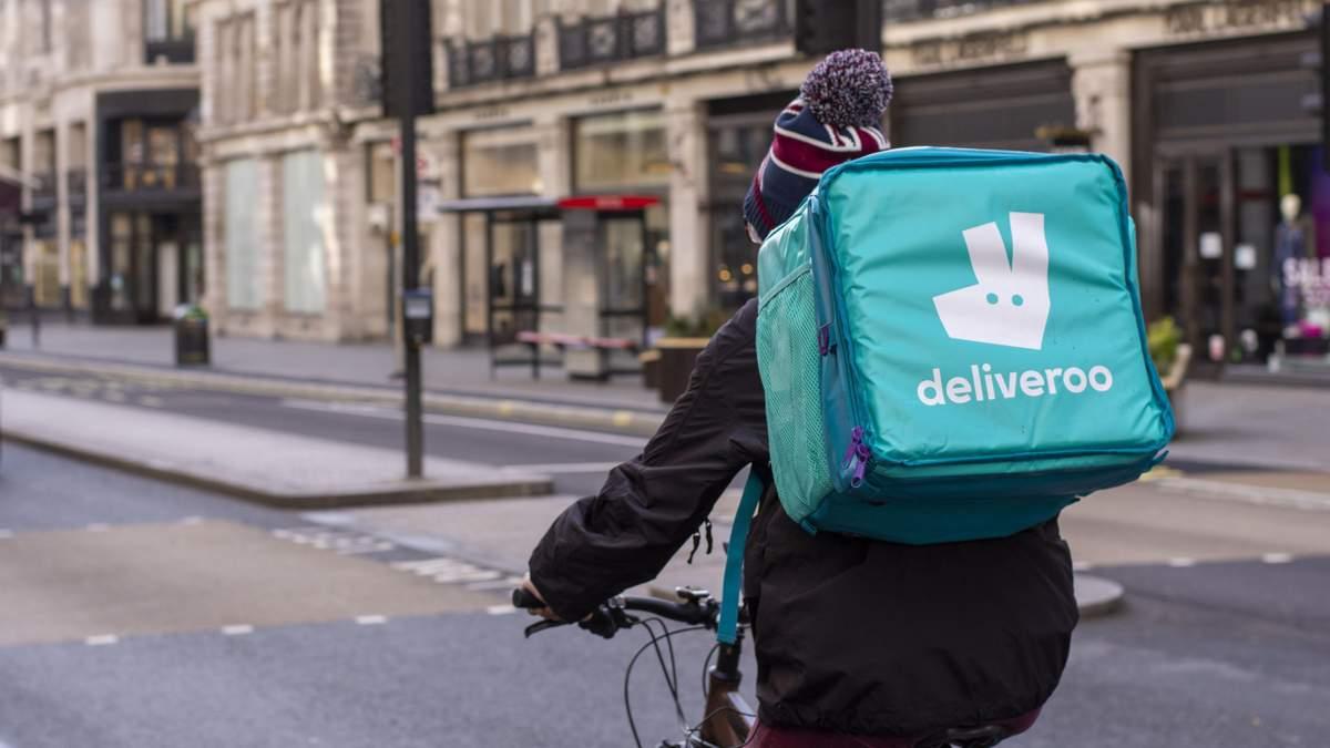 Стартап-компания доставки Deliveroo