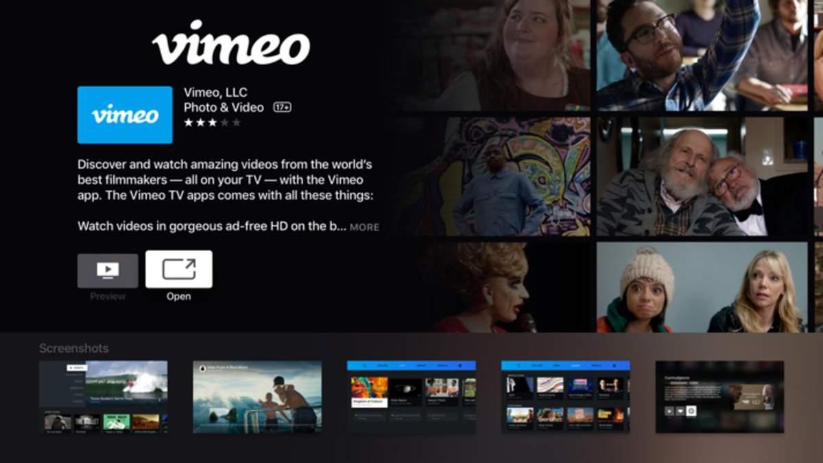 Сервіс Vimeo