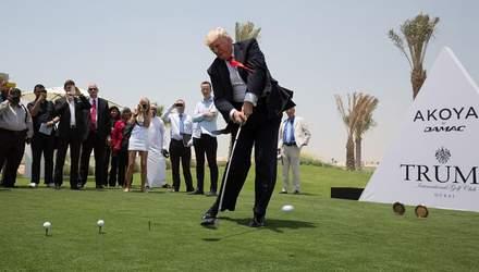 Вісім років без прибутку: гольф-клуб Трампа зазнав збитків на 1,5 мільйона доларів