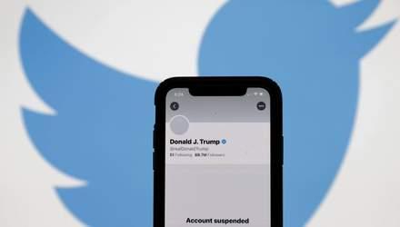 Акции компании Twitter упали после блокировки страницы Трампа