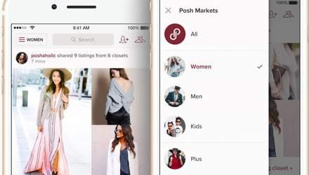 Акції онлайн-платформи для продажу вживаних речей Poshmark виросли на 142% після торгів