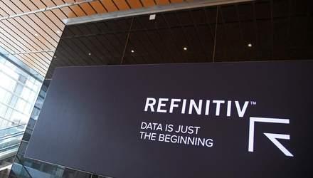 Лондонська фондова біржа завершила угоду про купівлю Refinitiv за 27 мільярдів доларів