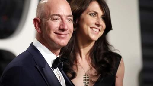 Состояние Джеффа Безоса рекордно выросло: вместе с гендиректором Amazon богатеет и его экс-жена