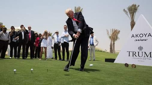 Восемь лет без прибыли: гольф-клуб Трампа понес убытки на 1,5 миллиона долларов