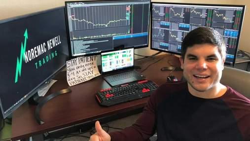 Превратил 1000 долларов в 5 миллионов: инвестор-новичок раскрыл свои секреты торгов на бирже