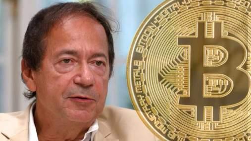Криптовалюта – это пузыры, которые ничего не стоят, – инвестор-миллиардер
